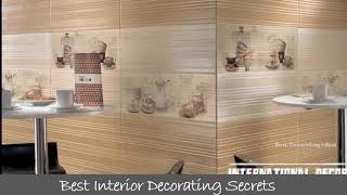 Wall designs for kitchen  Make your house with modern decorating concepts by watching these