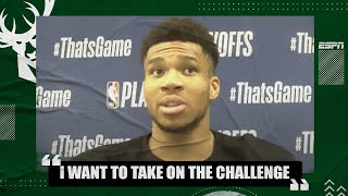 I want to take on the challenge of guarding KD in Game 6 - Giannis | 2021 NBA Playoffs