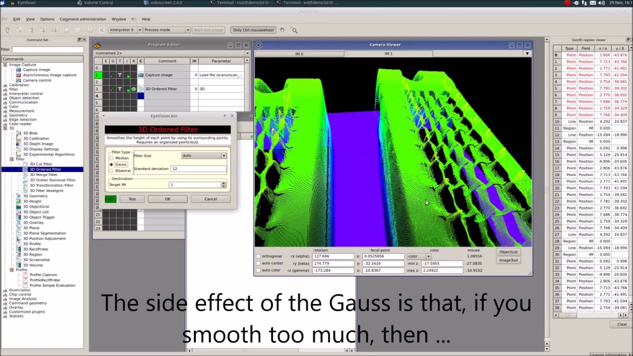 3D Ordered Filter - YouTube