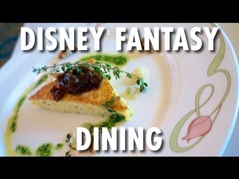 Disney Fantasy Tour & Review: Dining ~ Disney Cruise Line ~ Cruise Ship Tour & Review