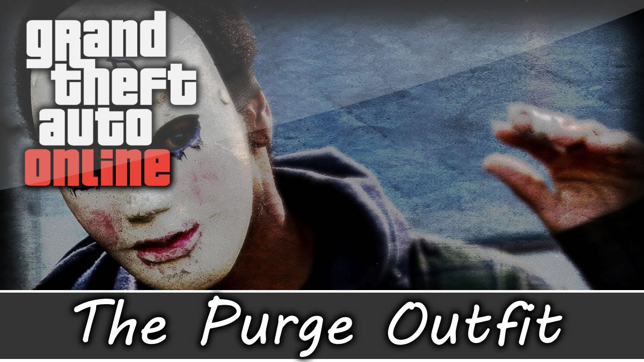 GTA 5 Online - Purge Anarchy God Outfit and Customization