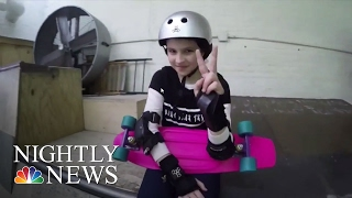Inspiring America: Encouraging Girls To Pick Up Skateboarding | NBC Nightly News