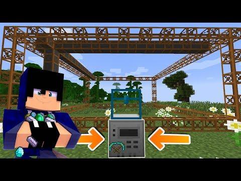 Minecraft: FIZ A MINERADORA DE MINÉRIOS AUTOMÁTICA !!! - Vida Industrial 04 ‹ Alone ›