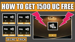 How To Get 1500 UC Free In Pubg Mobile ! Pubg Mobile Free UC latest Trick