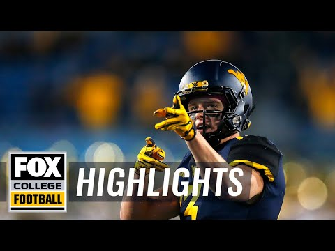 West Virginia vs. Baylor | FOX COLLEGE FOOTBALL HIGHLIGHTS