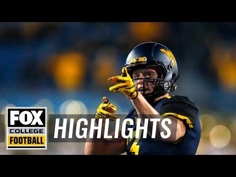 West Virginia vs. Baylor | FOX COLLEGE FOOTBALL HIGHLIGHTS