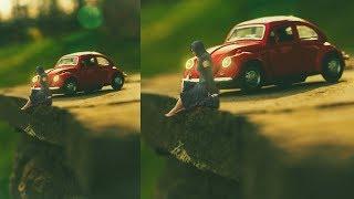 Photoshop Tutorial: Wie erstelle Miniatur | Foto Bearbeitung in Photoshop cc
