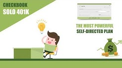 The Checkbook Solo 401(k) - The Ultimate Self-Directed Platform