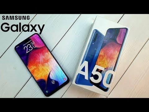 Samsung Galaxy A50: золотая середина!