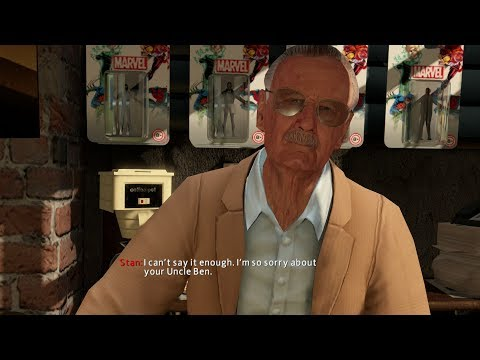The Amazing Spider-Man 2 Game - Stan Lee