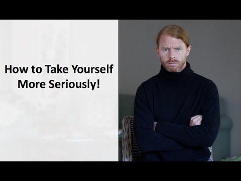 How to Take Yourself More Seriously - Ultra Spiritual Life episode 78