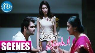 Endukante Premanta Movie  Anu Hasan Explaining Tamanna39;s Condition to Ram