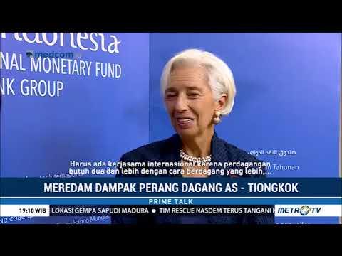 Wawancara Khusus: Perang Dagang AS-Tiongkok di Mata Direktur Pelaksana IMF Christine Lagarde