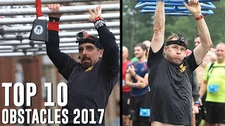 Top 10 Obstacles 2017 (All Obstacles)