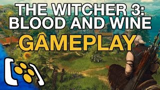 The Witcher 3: Blood and Wine Gameplay - A Fitting End For Geralt?