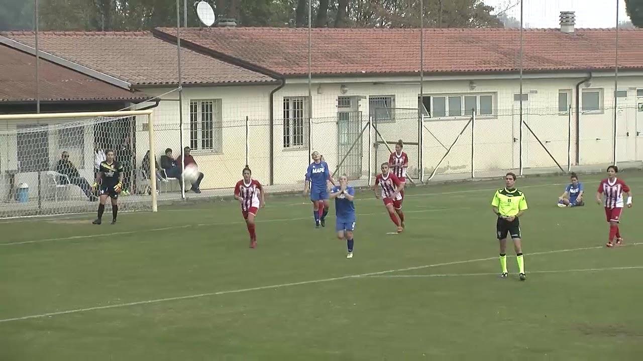 Serie A: gli  highlights di Ravenna-Sassuolo Femminile
