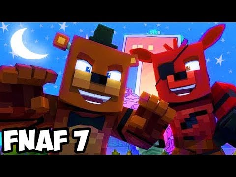 Teen Titans GO Five Nights at Freddy's! (Minecraft Roleplay)