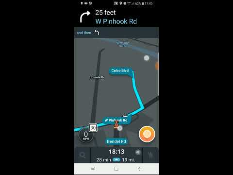 Customizing Your Route Using Waze
