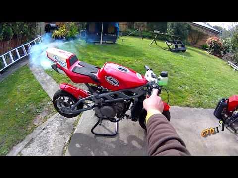 Mini Moto / MiniGP Bike - First TestRun