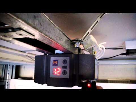 Hormann Promatic And Supramatic Garage Door Opener Inst
