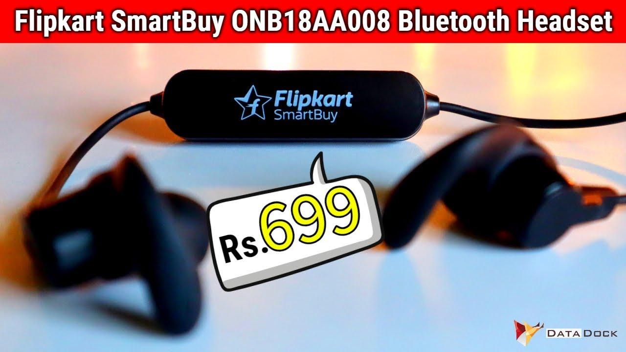 Cheapest Bluetooth Earphone Flipkart Smartbuy Onb18aa008 Hindi Data Dock Youtube