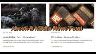 Airsoft Blog, New!