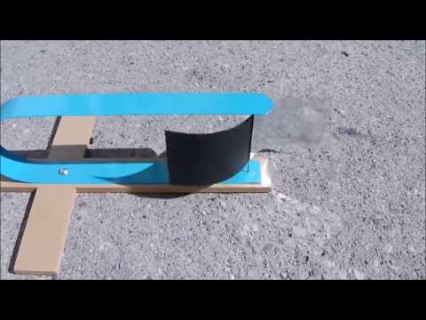 Solar energy turbine  experiment