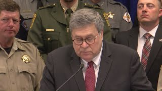 Attorney General Barr highlights fugitive arrests made during Operation Triple Beam in New Mexico