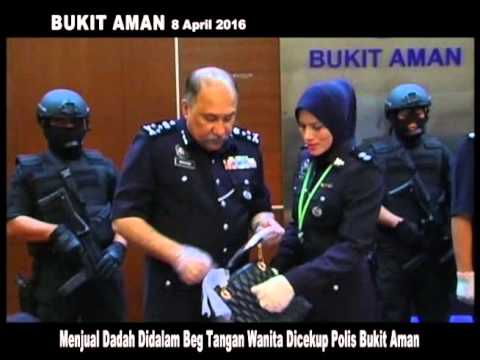 MKL Crimedesk   Menjual Dadah Didalam Beg Tangan Wanita Dicekup Polis Bukit Aman
