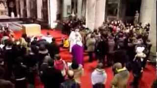 cantique de siméon fraternite des parvis église saint maurice lille