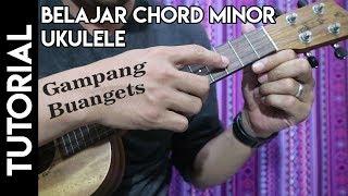 belajar ukulele untuk pemula chord minor