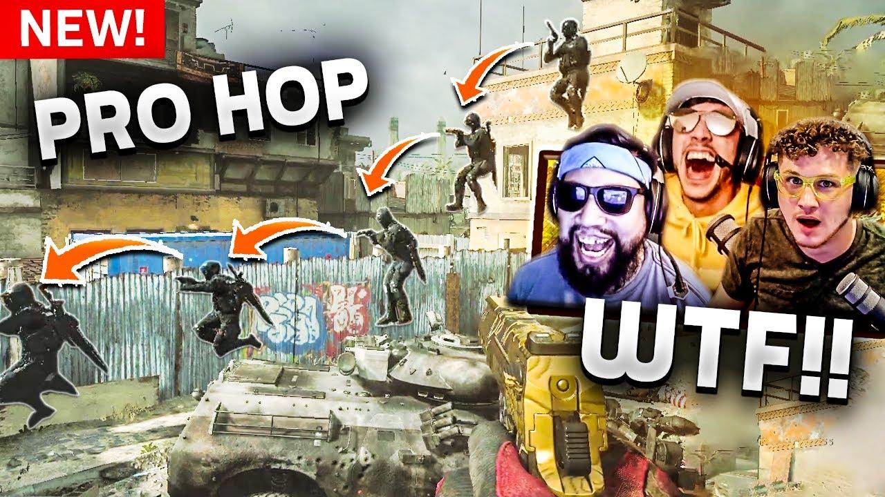 This *NEW* BHOP is BROKEN!! - Modern Warfare