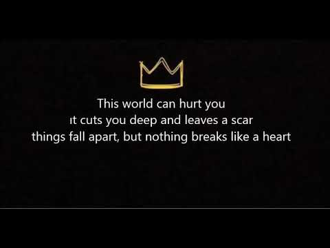 Miley Cyrus-Nothing Breaks Like A Heart Lyrics