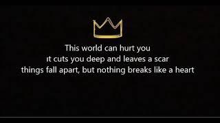 Miley Cyrus-Nothing Breaks Like A Heart Lyrics