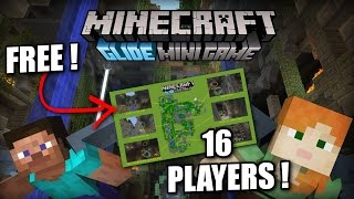 Minecraft PS4 - GLIDE MINI GAME - 16 PLAYERS [ FREE ] Xbox / PS3 / Wii U