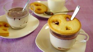 Cookie Idea ホットチョコレートにクッキーのフタをのせてみました thumbnail