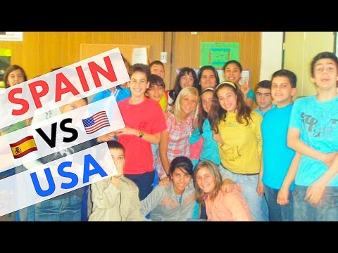 TEACHING IN SPAIN VS THE UNITED STATES