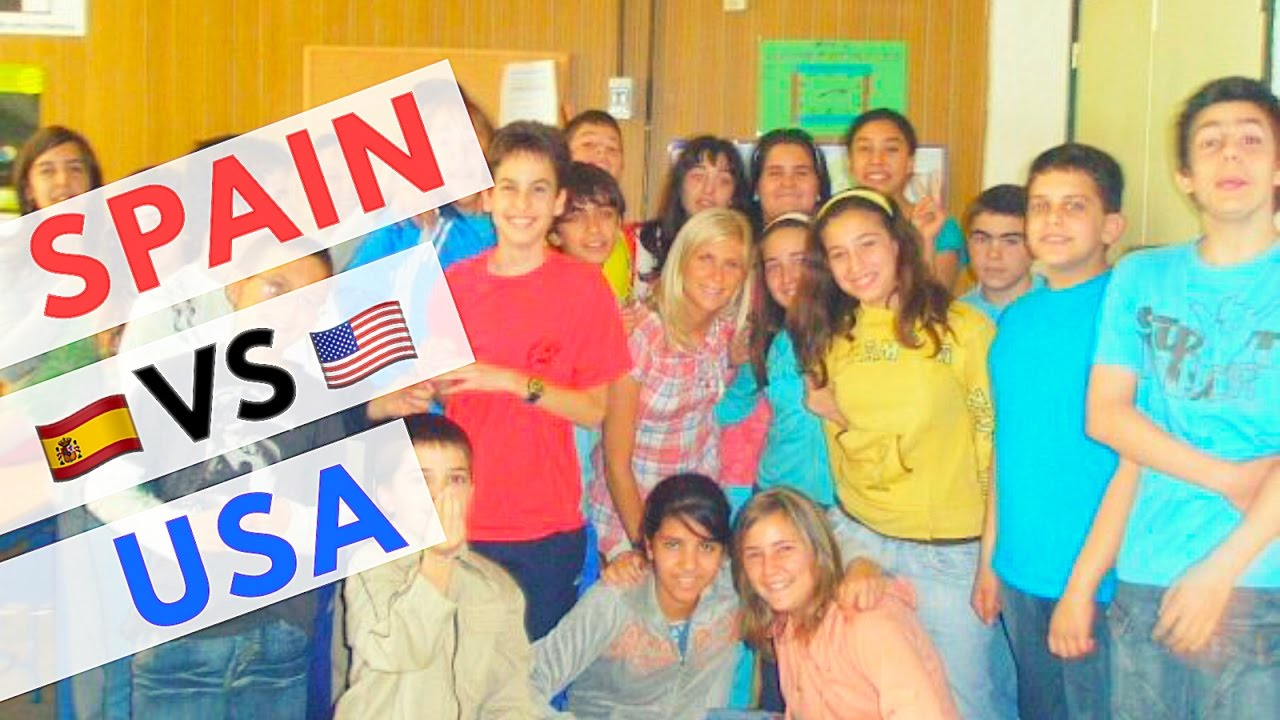 TEACHING IN SPAIN VS THE UNITED STATES - YouTube