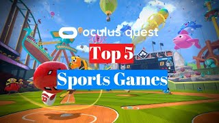 Today i do a top 5 list of sports games for new users to oculus quest.oculus quest 2 review: https://www./watch?v=vvkvaunr1sioculus tips a...