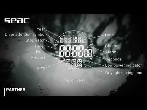 SEAC® - PARTNER multipurpose freediving watch