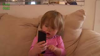 WOW..! FUNNY CUTE BABIES Talking on the Phone COMPILATION 2017