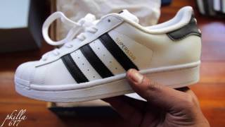 Adidas Superstar J Review AND ON FEET!