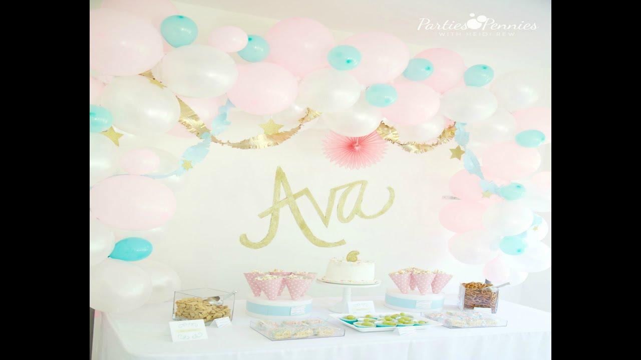 DIY Balloon Arch Backdrop DIY Balloon Arch