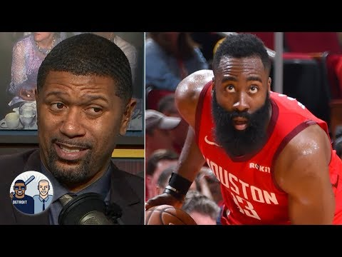 James Harden makes contested shots I've never seen in the NBA - Jalen Rose | Jalen and Jacoby