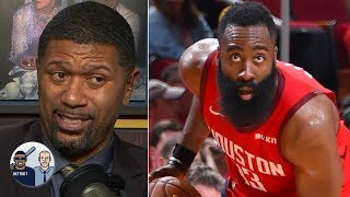 Jalen Rose and David Jacoby weigh in on James Harden's 32-point, 13...