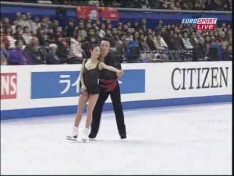 Figure skating Fair 2007 World championship Shen&Zao SP