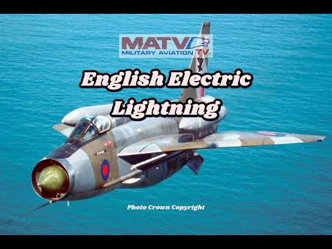 English Electric Lightning-Britain's First Supersonic Fighter. Classic Documentary.