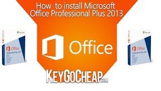 How to Install Microsoft Office Professional 2013 - Keygocheap.com