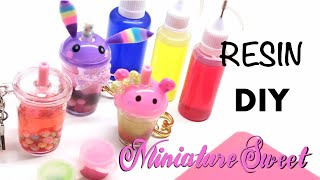 Shaker Charms and Colored Shaker oils made at home- Resin Crafts