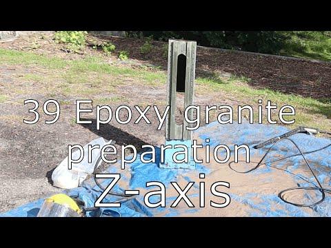 39 Epoxy granite preparation   Z-axis